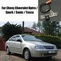 Cámara de Estacionamiento del coche/Cámara de Marcha Atrás Para Chevy Chevrolet Optra/Spark/sonic/tosca/cámara de vista trasera/luz de placa oem
