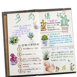 Image 3 - 20packs/lot sveglio serie di piante grasse autoadesivo etichetta della decorazione di DIY dress up per dairy album segnalibro allingrosso
