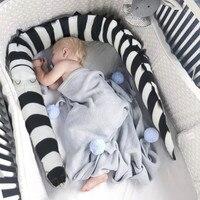 Neugeborenen Baby Bett Stoßstange Cartoon Krokodil Protector Krippe Stoßstangen Kinder Spielzeug Babybett Zaun Kind Bettwäsche Liefert Room Decor-in Stoßstangen aus Mutter und Kind bei