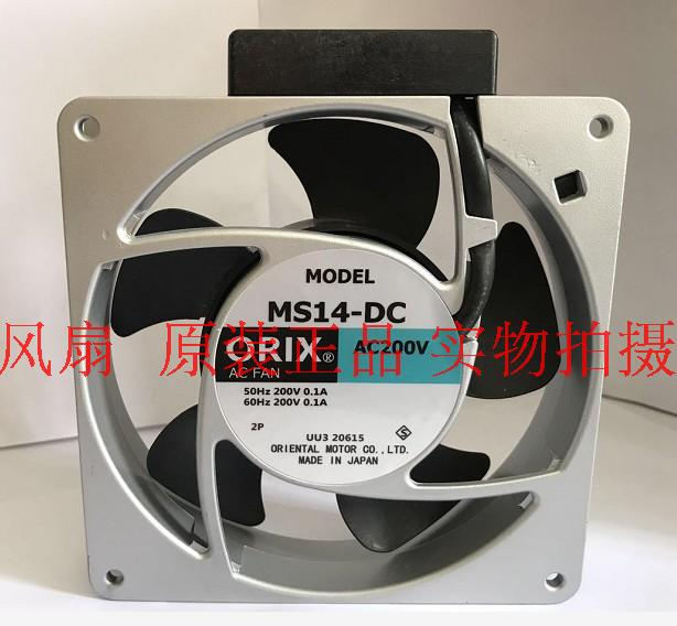 Emacro For ORIX MS14-DC AC 200V 0.1A 140x140x28mm Server Square Fan emacro orix mrs16 dta ac 230v 0 25a 160x160x60mm server square fan