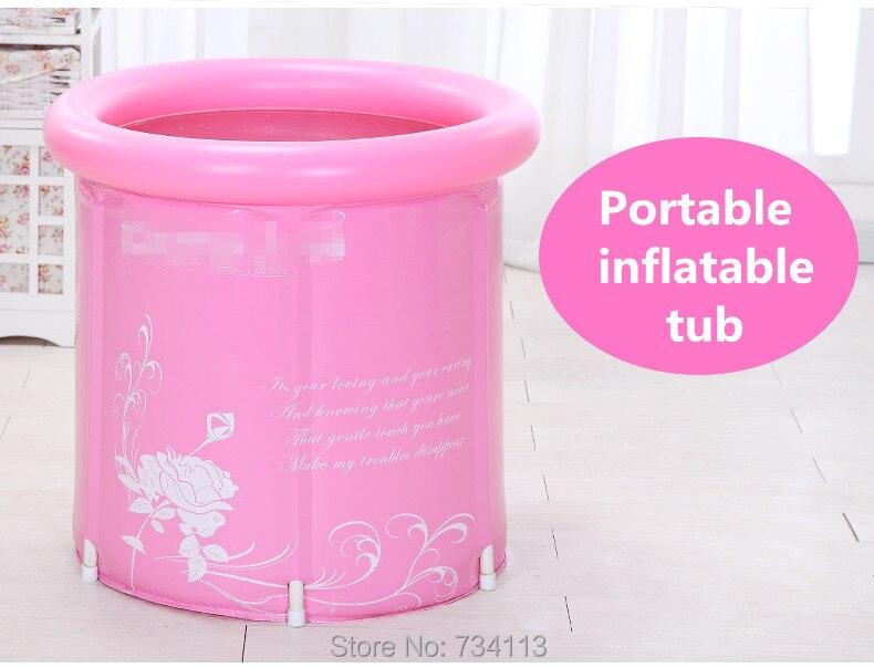 Надувные Для ванной Ванна толщиной складной Ванна, надувные Для ванной ванна для Famliy, взрослые Для ванной бассейн, Детская ванна, включают н...