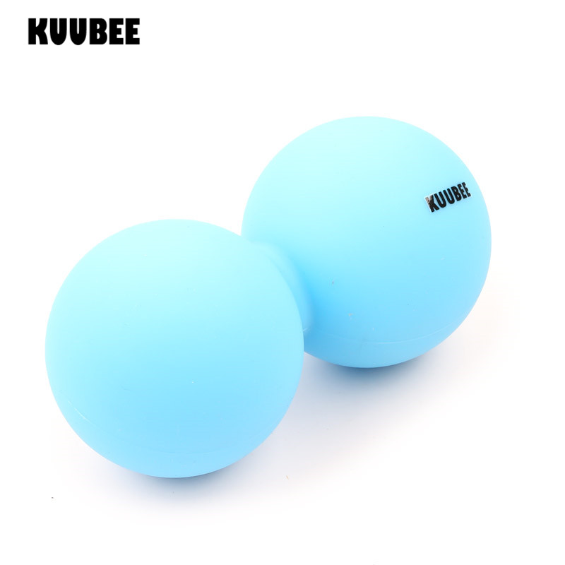 Lacrosse Ball Silicone Peanut Fascia Massage Balls Fitness Relax Gym Training Body Pain Relief Hockey Ball