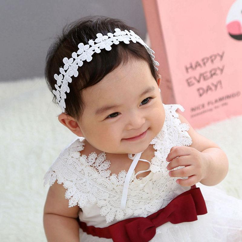 Flower Bandage Infant Hair Flower Baby Headband Bows Chiffon Flower Nylon Headband Gift Mother Day Newborn Headbands Baby Girl Gift Birthday