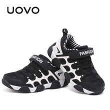 UOVO 2019 spring Kids Shoes Brand Sneakers colorful fashion casual children shoes for boys and girls rubber running sports shoes