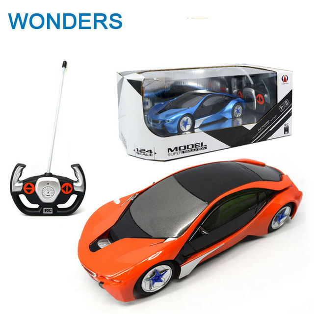 Cool Verson 1:24 Concept Racing Cars RC Electric Remote Control Toys 4CH  Radio Controlled
