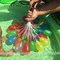 222 pçs/lote Magia Balões balões de Água crianças brinquedo da água ferramenta inflação grupo de Balões de água palha Crianças Esportes Ao Ar Livre