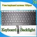 """Brand New SP Español teclado + Retroiluminación Retroiluminada + 100 unids tornillos del teclado Para Macbook Air 13.3 """"A1466 A1369 2010-2015 Años"""