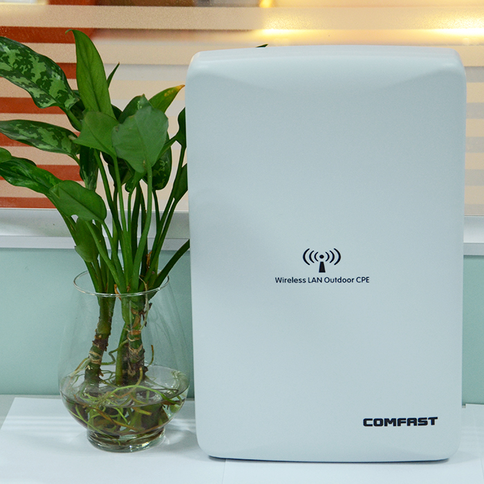 300Mbps wireless bridge Comfast CF-E316N outdoor high power CPE QCA9531 wi-fi repeater 2km Long transmission wifi router comfast cf e316n 300mbps wireless ap network bridge outdoor wi fi cpe repeater white