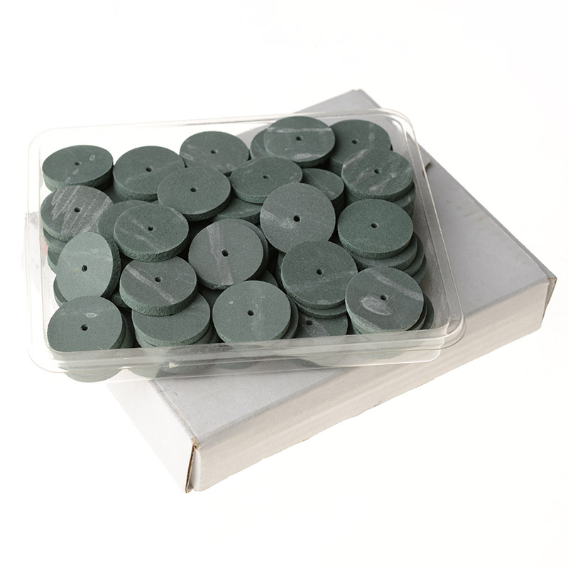 100pcs/Bag   Lab Rubber Polishing Wheels Burs  Teeth Whitening Oral Hygiene  Silicone Polishers