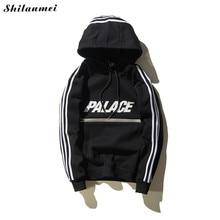 Hohe Qualität Frühjahr Neue Palace Hoodies Männer Frauen 100% Baumwolle Palast Skateboards Magazin Camo Palace Mit Kapuze Sweatshirts Hoodie