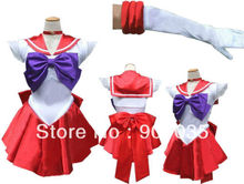 free shipping SAILOR MARS MOON DELUXE COSTUME SEXY ANIME JAPANESE HALLOWEEN COSPLAY S-2XL