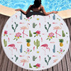 Round Patterned Beach Towel - Cover-Up - Beach Blanket 11