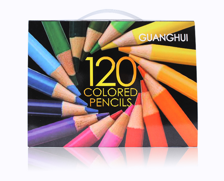 Professional 120 Colored Pencils set Lapis De Cor ...
