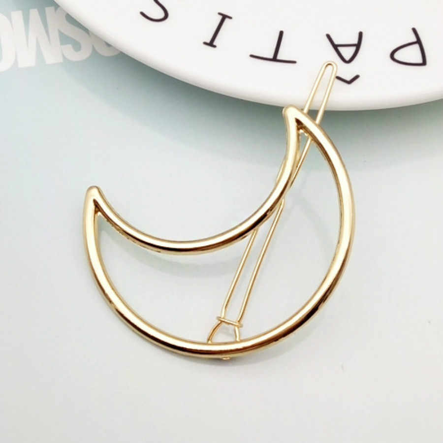 7 Gaya Seksi Logam Geometri Rambut Klip Rambut Sisir Pin Barrette Jepit Rambut Bulang Aksesoris Kecantikan Styling Alat Baru