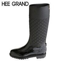 ฮีแกรนด์รองเท้าฝนยางแพลตฟอร์มรอง