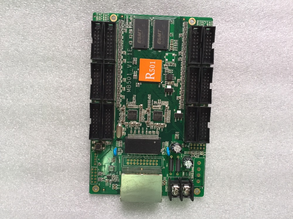 HD-R501 Receiver Card, Configure HUB75 Interface, Support For 192x25 6dots Compatible With C10 And C30 Asynchronous Control Card