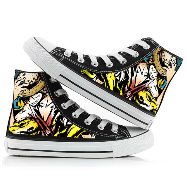 3D ONE PIECE HIGH TOP SHOES (8 VARIAN)