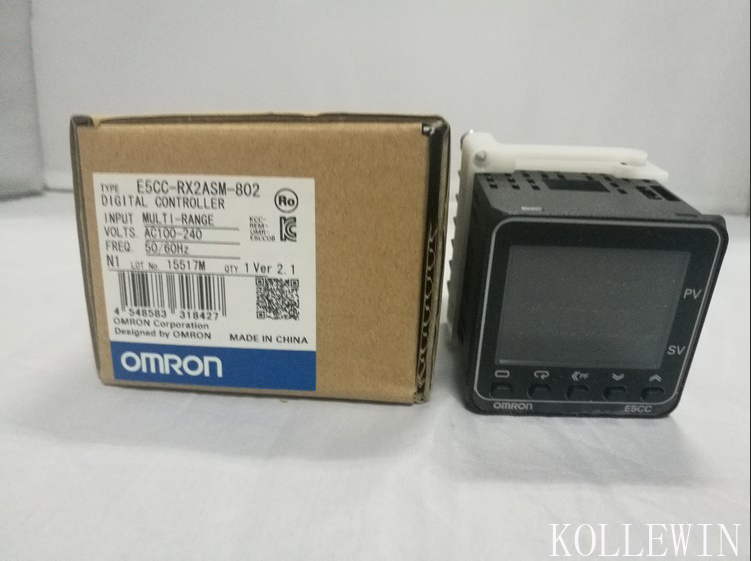 E5CC-RX2ASM-802 OMR Temperature Controller, E5CCRX2ASM802 Sensor NEW in Box, E5CC RX2ASM 802
