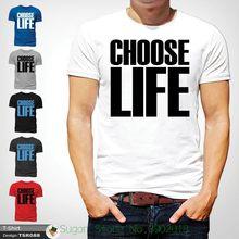 7256d54d Choose Life T Shirt Wham! Inspired Tee 80s Fancy Dress George Michael White  ! T