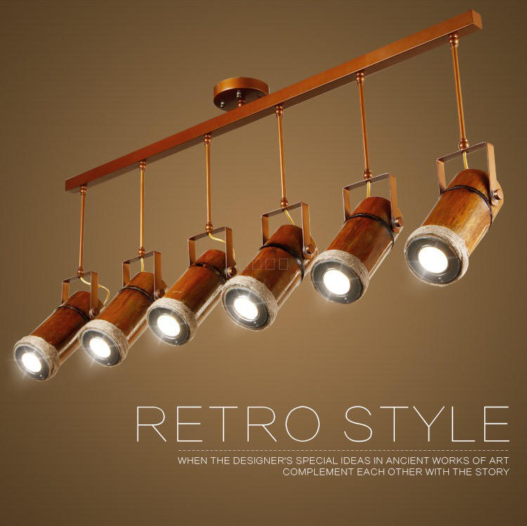 Loft designer American country retro hemp bamboo Bar Cafe creative personality pendant light ZHzb57 american retro loft industrial hemp pendant lights creative network bar clothing store genuine personality pendant lamp ta10176