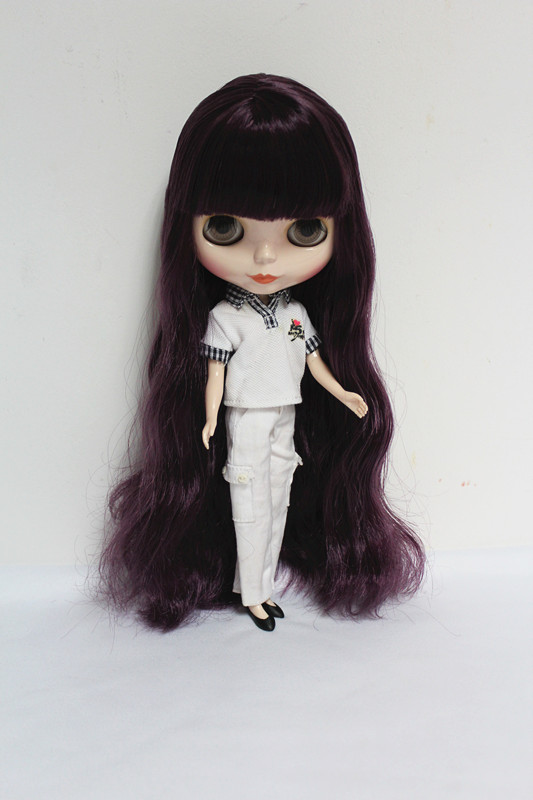 Free Shipping big discount RBL-35DIY Nude Blyth doll birthday gift for girl 4 colour big eyes dolls with beautiful Hair cute toyFree Shipping big discount RBL-35DIY Nude Blyth doll birthday gift for girl 4 colour big eyes dolls with beautiful Hair cute toy