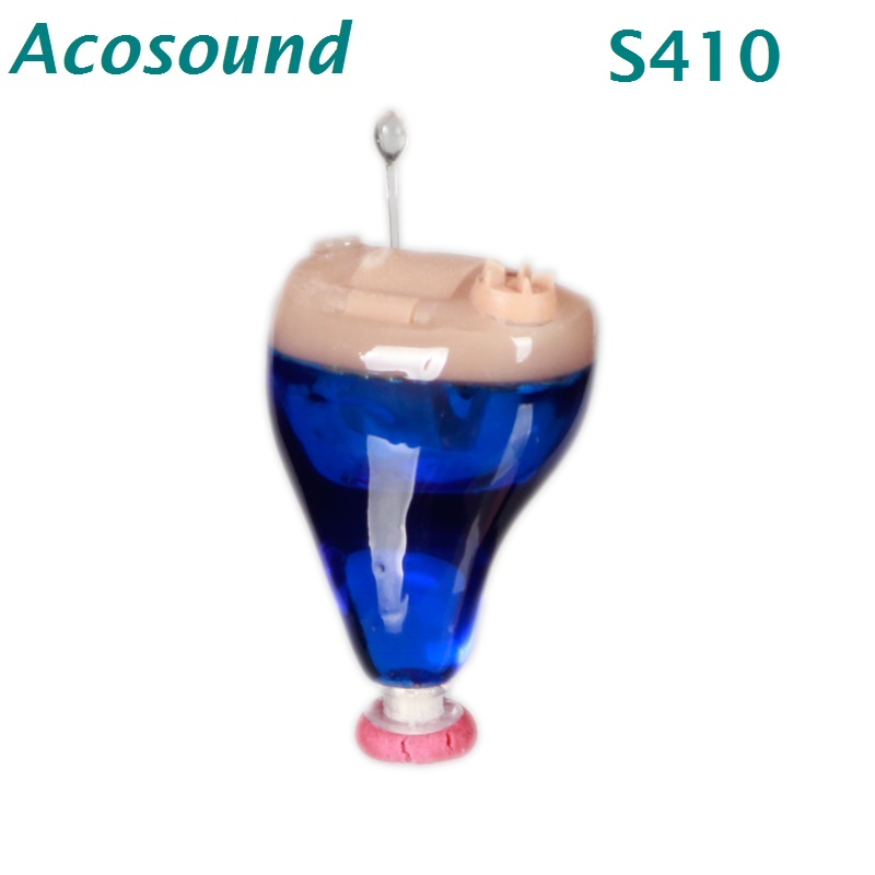 AcoSound Hearing Amplifiers Hearing Aids S410 Invisible Sound Amplifier CIC Digital Hearing Aid Mini Hearing Ear Aids acosound invisible cic hearing aid digital hearing aids programmable sound amplifiers ear care tools hearing device 210if
