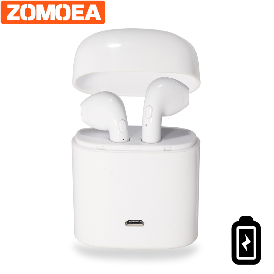 Universal Portable  Wireless bluetooth Earphone Stereo V4.2 Headset Earphone Two Ears Earphones And Headphone Earbuds For Xiaomi portable waterproof earphone storage box drop resistance protective case for headphone mp3 player headset amp earplugs earbuds