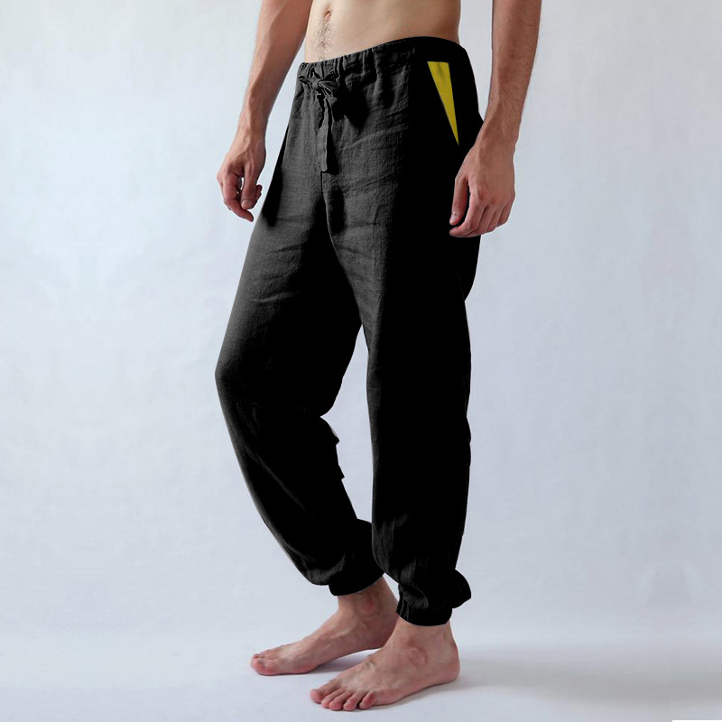 Trousers Fitness Joggers Gym Mens Pants Elastic Sports Plus-Size Baggy Summer Fashion