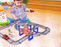 Thomas And Friends Electric Trains Set With Rail Children lepin Kids Toys Jugetes Truck rail car stall speed multi-track racing