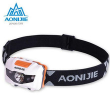 AONIJIE Waterproof Outdoor Sport Night Running Lights LED Climbing Night Running Light Outdoor Safety Camp Light Riding