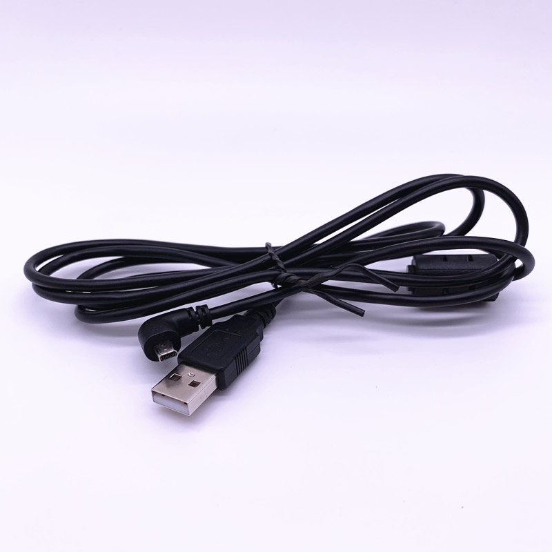 USB Male Plug To Wire 8 Pin Left Angled 90 Degree Plug Camera Data Cable For Sony CyberShot Series DSC S630/S650/S700/S730 S750
