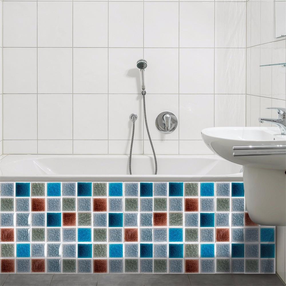 Yanqiao Ice Crack Effect Tiles Sticker Kitchen Bathroom Decor ...