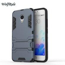 Cobrir para meizu m3s caso dual layer tpu soft & magro plástico titular coque telefone à prova de choque case para meizu m3s m3 mini>