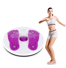 slim fitness twist disc magnet waist wringgling plate twister board device slimming foot massager machine