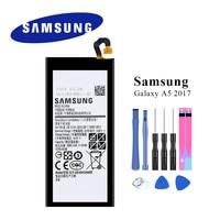 Nuevo EB-BA520ABE de batería Original para Samsung Galaxy A5 2017 SM-A520 A520F 3000mAh con herramientas de apertura de 8 Uds