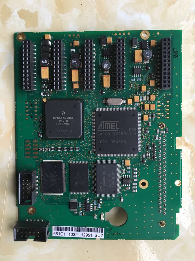 Frequency converter motherboard CPU board control board PC00661 B frequency converter shf 7 5 k board cpu board control board dmc12008b 7 5kw