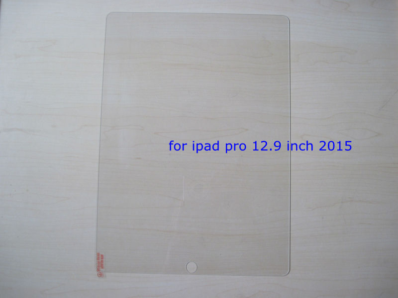 9H Tempered Glass Film for iPad pro 12.9 inch 2015 Tablet Screen Protector + Cleaning Wipes No Retail Box with tracking number