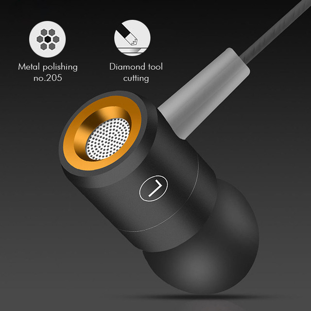 ANBES W508 Earphone With MIC Sweatproof Gym Sport Wired Earphones Bass Headphones For iPhone xiaomi 2