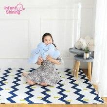 Infantil Brilhando TaTaMi Puzzle Tapetes de Jogo Do Bebê estilo Nórdico Cobertor do Algodão do Miúdo Exercício Tapete Tapete Do Quarto Lavável Na Máquina