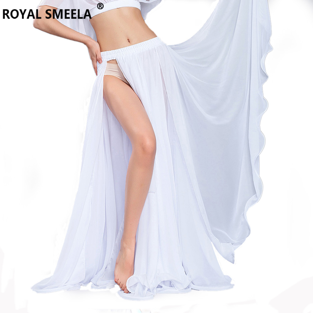 Hot Sale Free Shipping 2018 New bellydancing skirts sexy swing belly dance skirt costume training dress or performance 6804 in Belly Dancing from Novelty Special Use