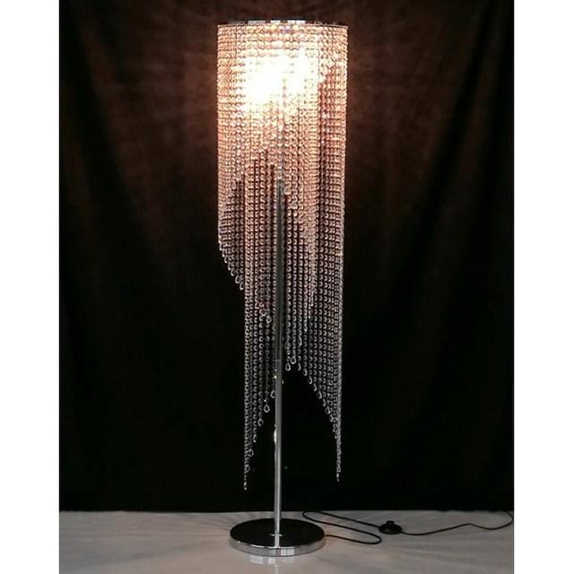 European modern luxury led remote control creative dimming shop bedroom living room design k9 crystal floor