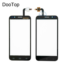 Top quality for Fly IQ455 black touch screen panel Repair replacement Touchscreen Free Russia