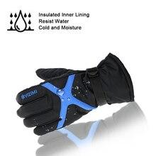 Waterproof cotton Ski Gloves Windproof Terylene Lycra  Snowboard Gloves Winter Warm