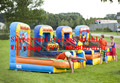 2016 new Factory direct Inflatable games, four in one game KYG-45