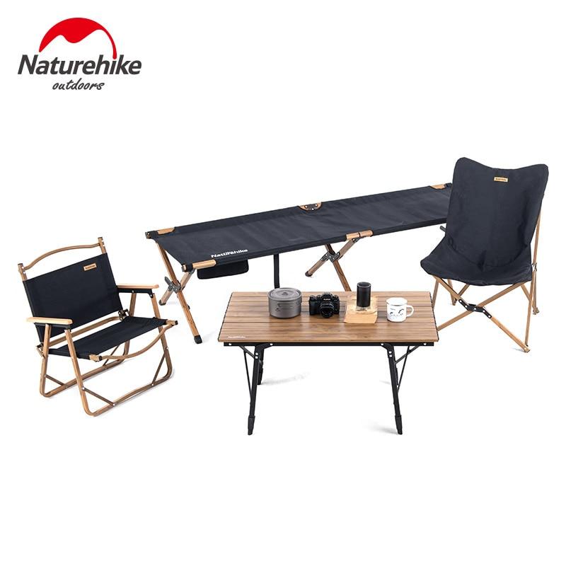 Tavoli Da Campeggio Pieghevoli In Legno.Naturehike Nuovo Tavolo Pieghevole Per Esterni Sedie Da Campeggio