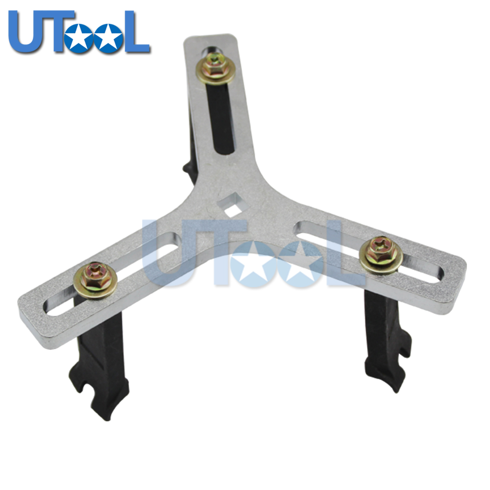 UTOOL Adjustable Fuel Pump Send Unit Removal Installer Wrench Fuel Tank Lid Tool 3 Jaw / Legs цена