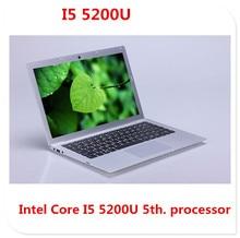 I5 5th Gen laptop ultrabook netbook 1920*1080 HD screen 4GB 500GB HDD & 64GB SSD USB 3.0 HDMI windows notebook computer