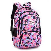 Fashion Girl School Bag Waterproof Light Weight Girls Backpack Bags Printing Backpack Child