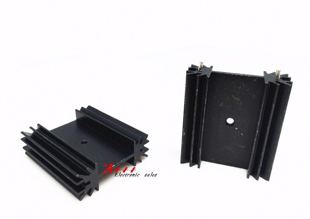 2PCS TO-247 transistor radiator heat sink 38*34*12MM acoustic radiating fin heat sink