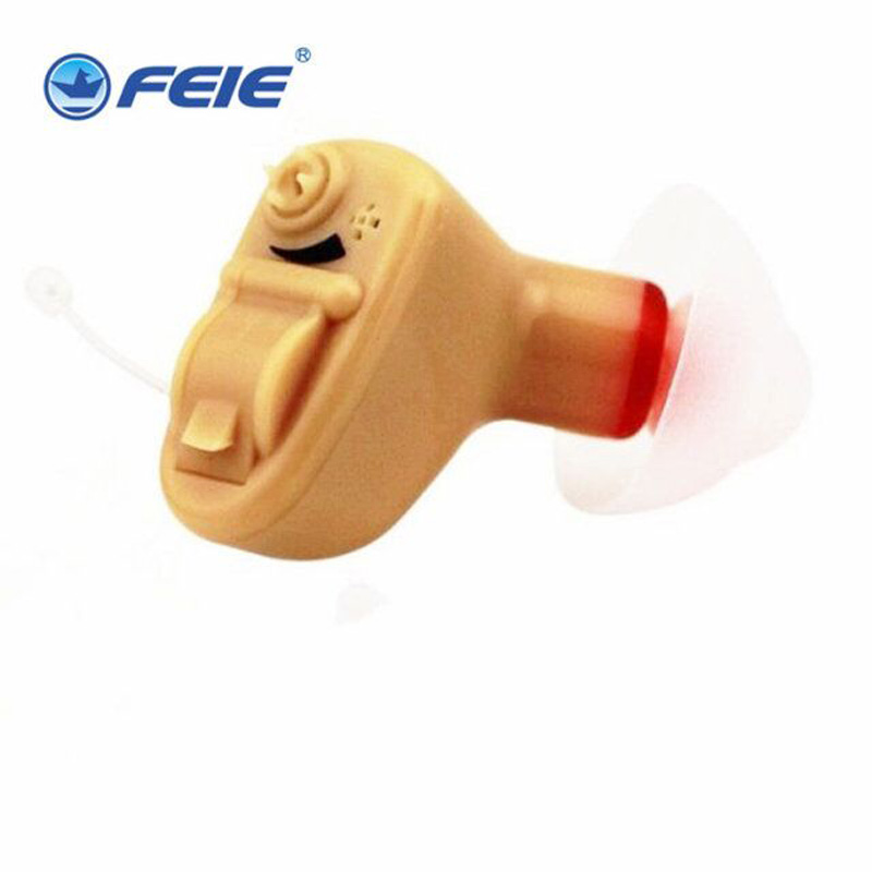 Mini In-ear Hearing Aid Para The Elderly Headphone Ear Tool Instrument Hearing Aids Digital Sound Amplifiers S-9A Both Ears rechargeable hearing aid bte hearing aids for the elderly deaf old ear hearing device better value than siemens hearing aid